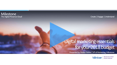 Video: Digital Marketing Essentials for Your 2018 Budget