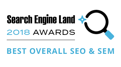 "Milestone Wins ""Best Overall SEO & SEM"" at the Landy Awards"