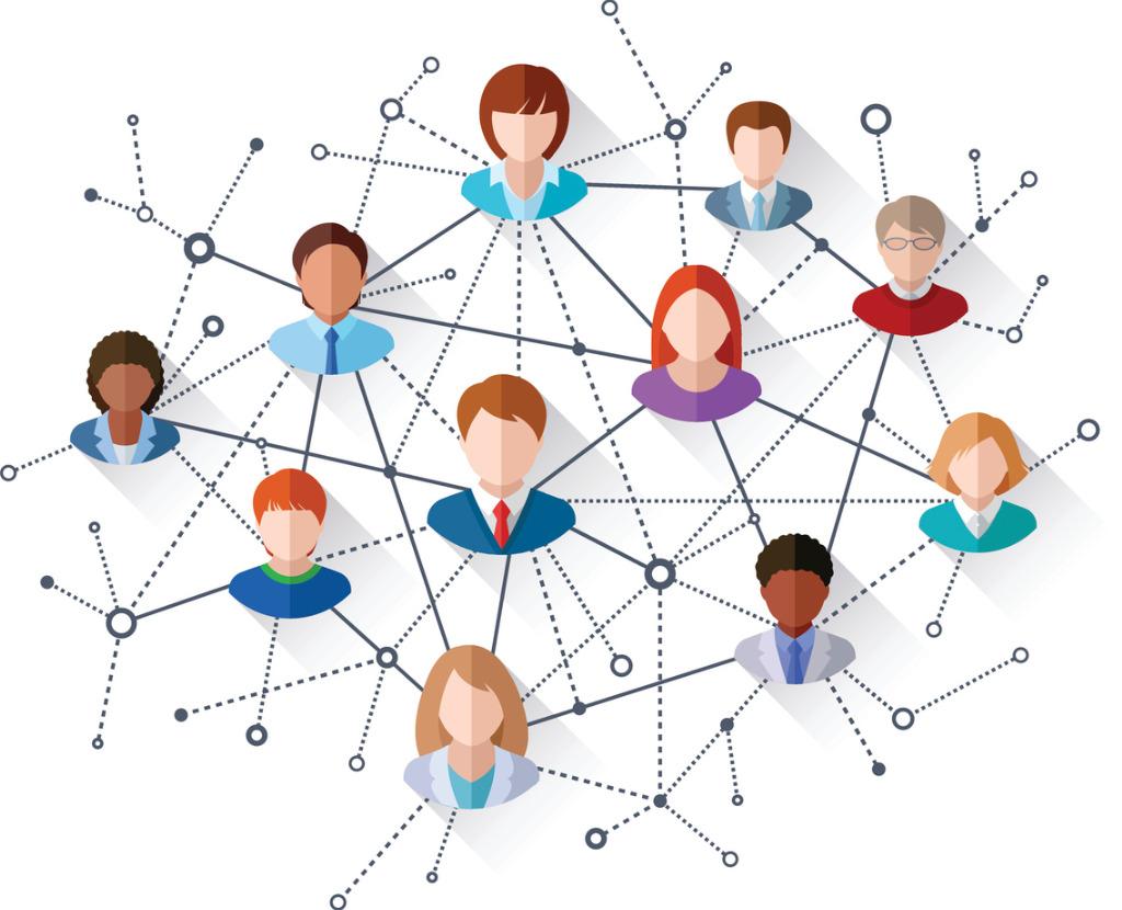 social network vector id486401982