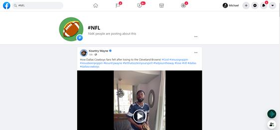 Facebook NFL