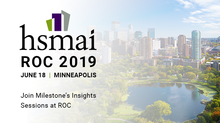 Milestone's Insights Sessions at HSMAI ROC 2019 - June 18th