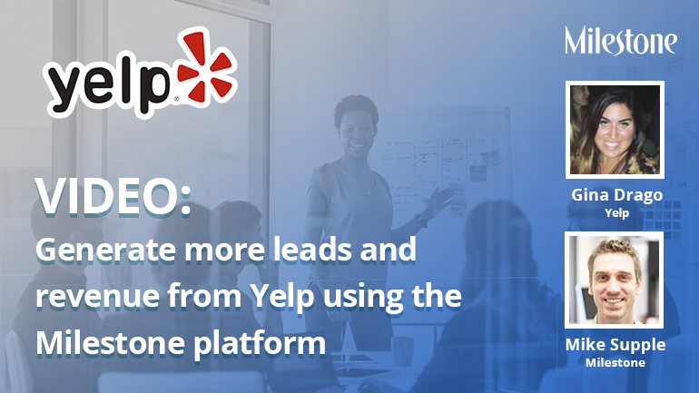 Webinar video: Generate more leads and revenue on Yelp