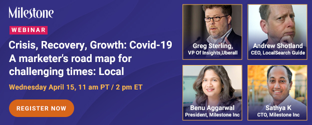 Webinar: Covid-19 Crisis-Recovery-Growth: Local Search