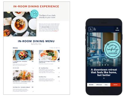 In Room Dining Experience - milestoneinternet.com, Milestone Inc.