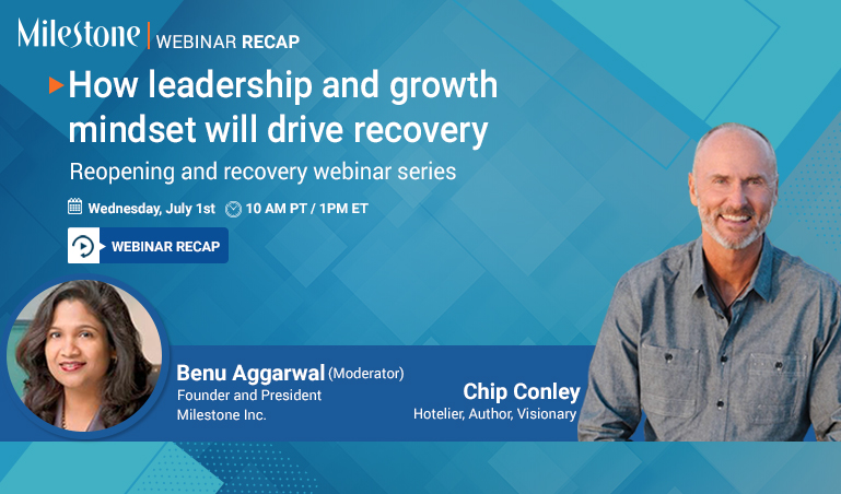 Webinar recap: Leadership lessons by Chip Conley