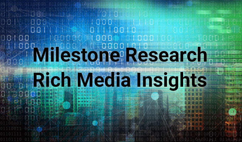Milestone Research Rich Media Insights