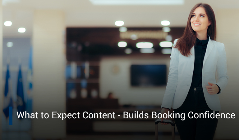 Marriott's What to Expect Content Builds Booking Confidence
