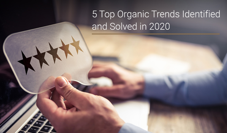5 Top Organic Trends Milestone Inc. Identified and Solved in 2020