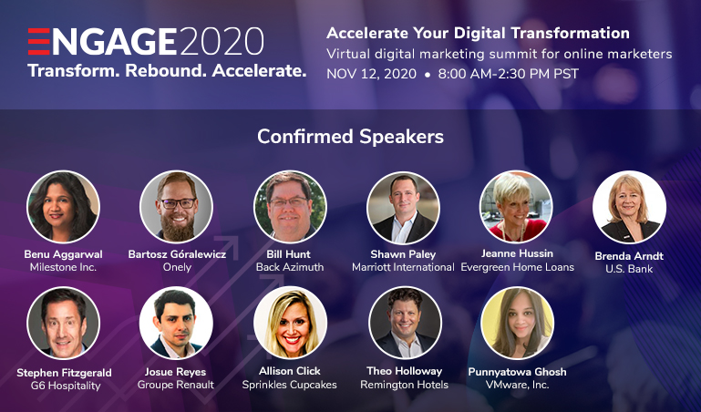 Engage2020: Transform. Rebound. Accelerate.
