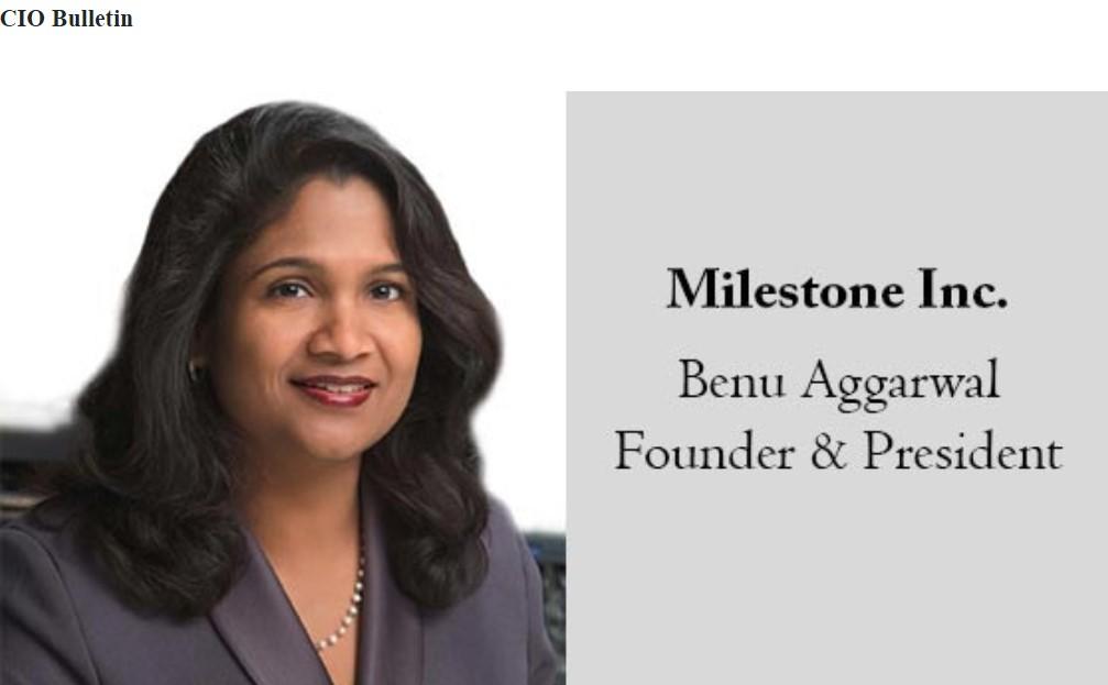 Benu Aggarwal - milestoneinternet.com, Milestone Inc.