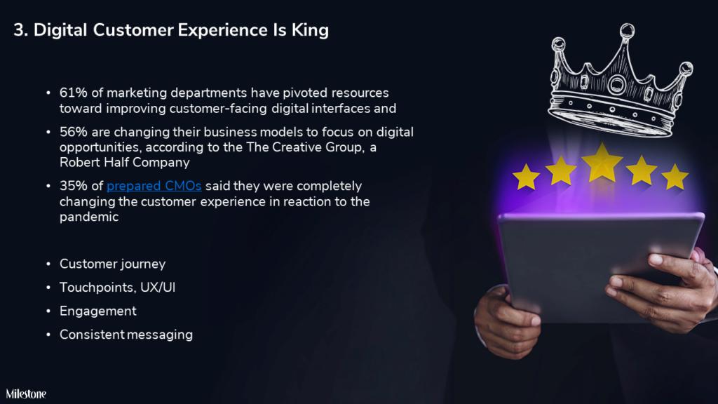 Digital experience in 2021 - milestoneinternet.com, Milestone Inc.