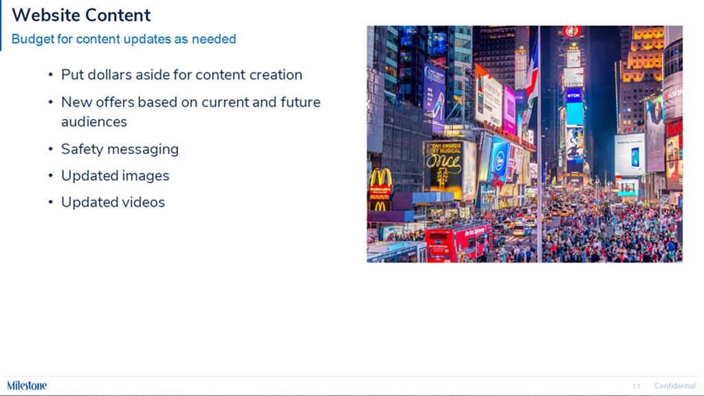 Content and Messaging - milestoneinternet.com, Milestone Inc.