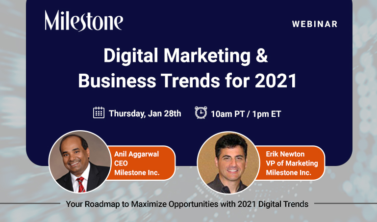 Digital Marketing and Business Trends for 2021