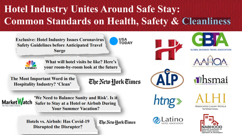 Hotel Industry unites ariund safe stay - milestoneinternet.com, Milestone Inc.