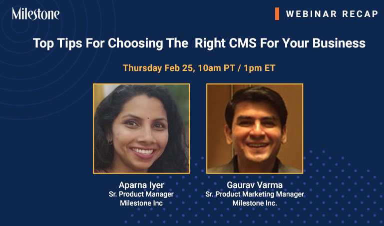 Webinar Recap: Why SEO-First CMS is your path to more leads and revenue