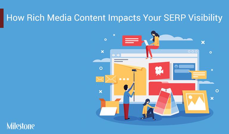 Universal Search and How Rich Media Content Increases SERP Visibility www.milestoneinternet.com Milestone Inc