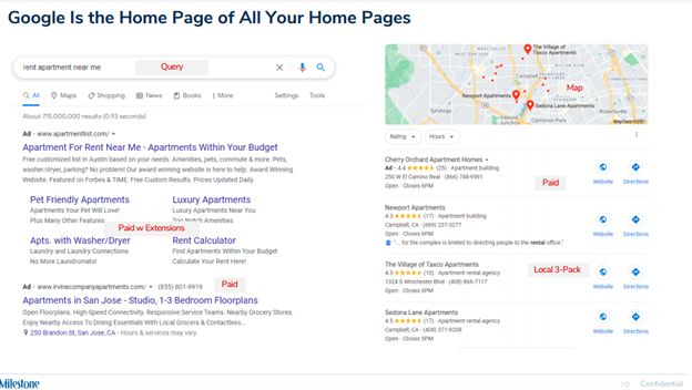 Google is home page of all your home pages