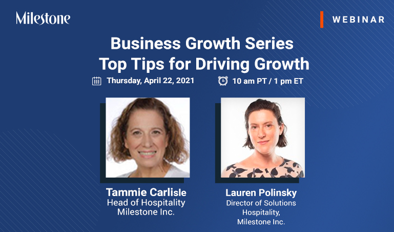 Webinar: Top tips for driving growth for your business