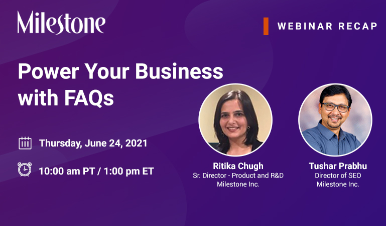 Webinar Recap: Power Your Business with FAQs