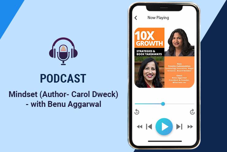 Growth mindset 10X podcast